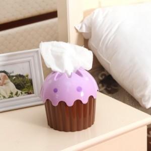 蛋糕造型纸巾桶 纸巾抽 咖啡色