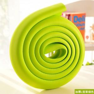 婴儿安全防撞条 桌椅保护条 宝宝防护用品 2米加厚款 草绿色