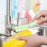 厨房迷你瓜果蔬菜清洁刷 水果马铃薯萝卜清洗刷子 粉色