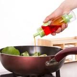厨房必备按压式双头酱油喷瓶 控油小油壶 OL-8640 绿色