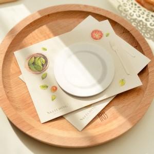 圆形咖啡杯垫造型小速写便签N次贴