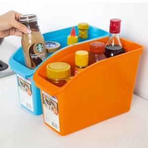 带提手厨房杂物储物桶 桌面收纳盒 C15-025A