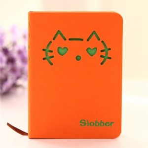 猫咪表情硬抄手册 112张(LB-64K11238)中号 米色