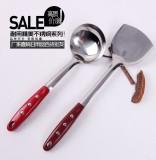 厨房工具 三钉不锈钢汤勺  炒菜勺 烹饪勺子