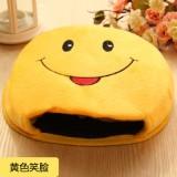 USB暖手鼠标垫 经济款-笑脸2