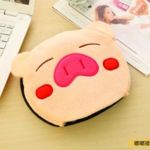 USB暖手鼠标垫 经济款-米猪