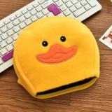 USB暖手鼠标垫 经济款-大黄鸭
