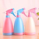 糖果色手压式可调节喷水壶 喷雾器 浇水壶 洒水壶--白色 200个/箱