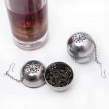 不锈钢调味球泡茶球 茶叶过滤器 泡茶球