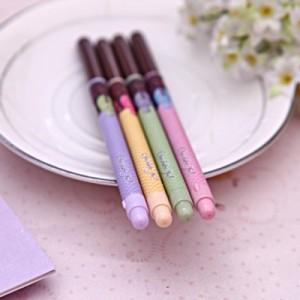 韩国文具可爱巧克力棒造型黑芯中性笔 PA-222(单支售) 蓝色
