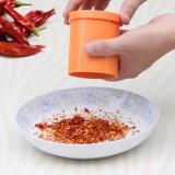 创意坚果研磨器 厨房干货手动黑胡椒花椒粉捣碎器 绿色