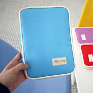 热销护照卡包 多功能出国机票收纳包 情侣防水证件包 紫色