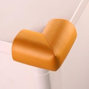 婴儿安全防撞角 桌椅保护角 宝宝防护用品 加厚L角 木色 500个/箱