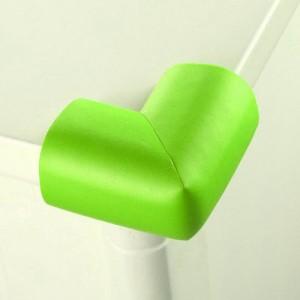婴儿安全防撞角 桌椅保护角 宝宝防护用品 加厚L角 草绿色 500个/箱