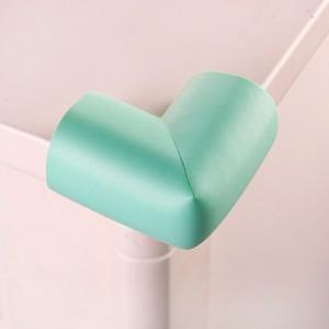 婴儿安全防撞角 桌椅保护角 宝宝防护用品 加厚L角 浅绿(蓝绿)500个/箱