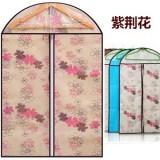 加厚印花西服防尘罩 衣服物防尘收纳袋 紫荆花 3个规格