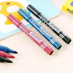 记号笔 油性单头擦不掉马克笔 黑色勾线笔 签字大头笔 整袋100支装