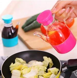 厨房防漏小油壶 多用途小油瓶 调味瓶 醋瓶
