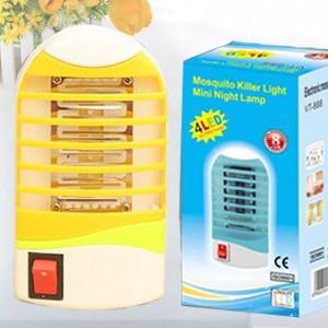盒装 带开关小圆头捕蚊器 灭蚊灯 led插座驱蚊小夜灯  黄色