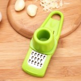 优质多功能厨房捻蒜盒压蒜器捣蒜器捻蒜器-绿色 240个/箱