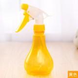 园艺手压式喷水器 家用洒水壶 浇花小喷壶 喷雾器 255ml  黄色 462/箱