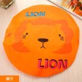 可爱卡通洗澡浴帽/防水沐浴帽(花边)-狮子