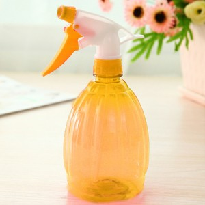 糖果色喷壶 手雷喷水壶 手压式浇花壶 喷水瓶 500ml  黄色 200个/箱