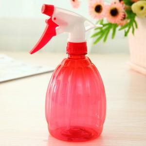 糖果色喷壶 手雷喷水壶 手压式浇花壶 喷水瓶 500ml  红色 200个/箱