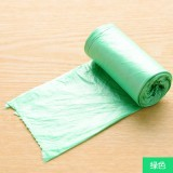昊鑫居家炫彩垃圾袋 点断式加厚塑料袋 20只 绿色 200个/箱