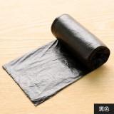 昊鑫居家炫彩垃圾袋 点断式加厚环保无异味塑料袋 20只 黑色 200个/箱