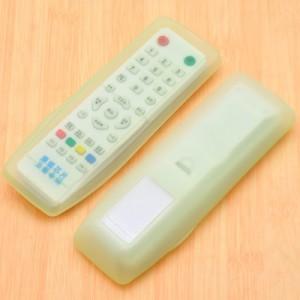 家居空调遥控器套 透明硅胶遥控器保护套 长款绿色