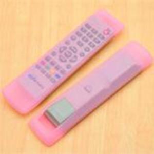 家居空调电视机遥控器套 透明硅胶遥控器保护套 F款粉色 500/袋