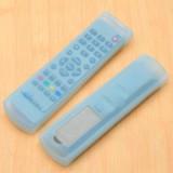 家居空调电视机遥控器套 透明硅胶遥控器保护套 A款蓝色 500/袋