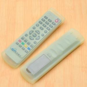 家居空调电视机遥控器套 透明硅胶遥控器保护套 A款绿色 500/袋