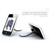 创意小尾巴手机支架
