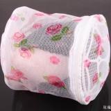 优质印花折叠式带支架文胸内衣护洗袋 玫瑰花护洗袋 300个/箱