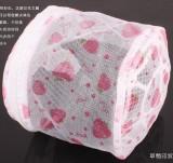 优质印花折叠式带支架文胸内衣护洗袋 草莓护洗袋 300个/箱
