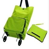 日式家居便携式可折叠拖轮车包/购物旅行李袋