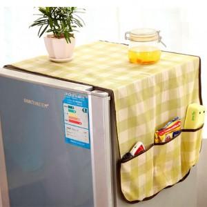 贴心冰箱防尘罩/收纳袋 无纺布整理挂袋 格子 200个/箱