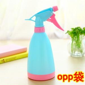 糖果色手压式可调节喷水壶 喷雾器 浇水壶 洒水壶-蓝色 200个/箱