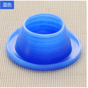 下水管防臭密封圈 硅胶 卫生间下水道地漏密封圈 圆形蓝色 600个/箱