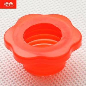 下水管防臭密封圈 硅胶 卫生间下水道地漏密封圈 梅花橙色 600个/箱