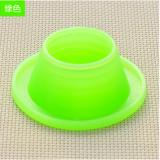 下水管防臭密封圈 硅胶 卫生间下水道地漏密封圈 圆形绿色 600个/箱