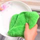 特惠款 超值植物纤维多用途不沾油洗碗巾 抹布(透明opp袋装) 1000片/箱