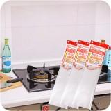 耐热透明厨房防油贴纸 防油污贴纸 瓷砖隔油墙贴(一箱500张)