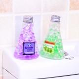 家用水晶香珠固体空气清新剂厕所除臭芳香剂车用清香剂 三角形款 200个/箱