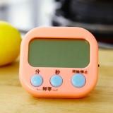 大屏厨房定时器 提醒器 正倒计时闹钟 电子数显大屏 HX103 粉色