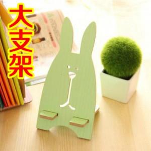 大H板兔子手机支架 越狱兔手机架 绿色  500一件