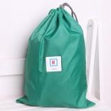 纯色韩版旅行防水幸运袋(M) 苹果绿