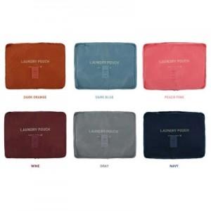 韩国旅行整理收纳包 多功能尼龙网格透气收纳袋(S)单独网袋 橙色